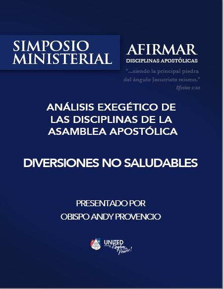 Book Cover: 288 - Diversiones no saludables - Análisis Exegético - Simposio ministerial